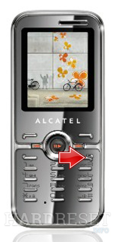 Hard Reset ALCATEL OT-S621