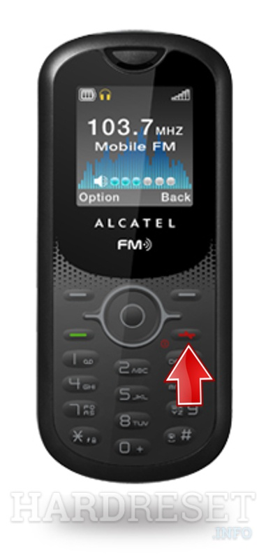 Hard Reset ALCATEL OT-E206A