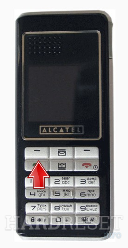 Factory Reset ALCATEL OT-E252