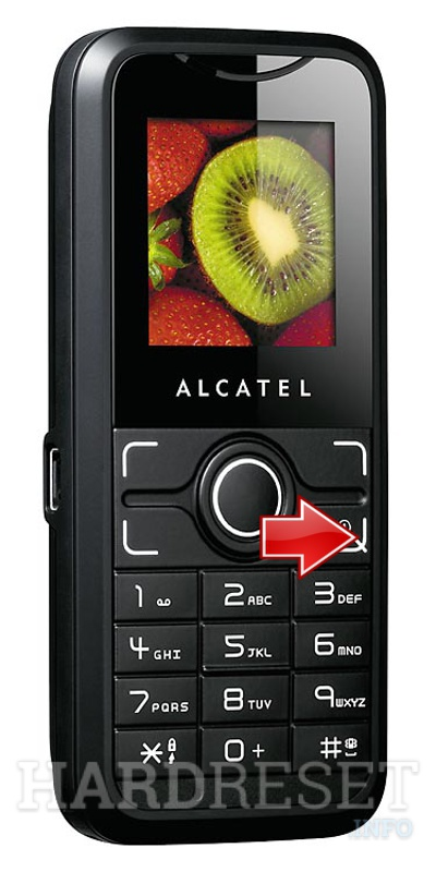 Hard Reset ALCATEL OT-S211