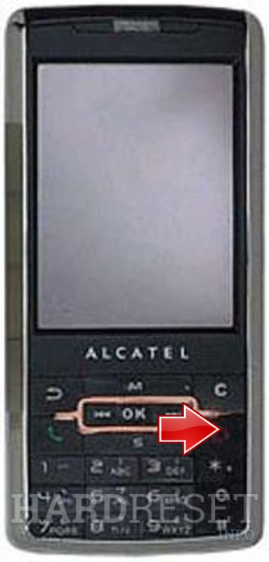 Hard Reset ALCATEL OT-S696