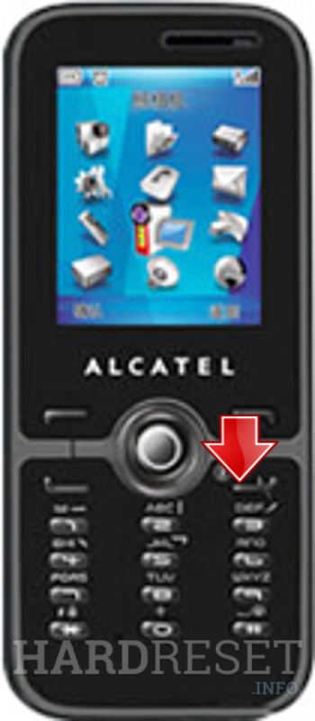 Hard Reset ALCATEL OT-S521