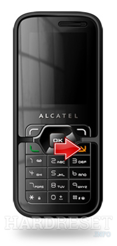 Hard Reset ALCATEL OT-S522C