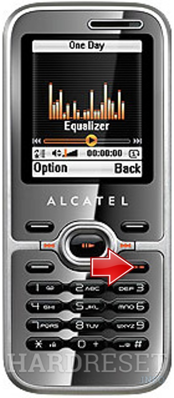 Hard Reset ALCATEL OT-S626