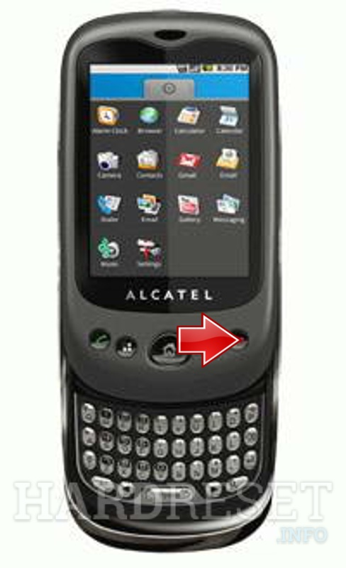 Hard Reset ALCATEL OT-981