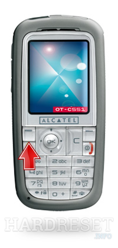 Factory Reset ALCATEL OT-C551