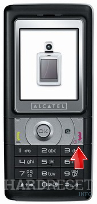 Hard Reset ALCATEL OT-C550C