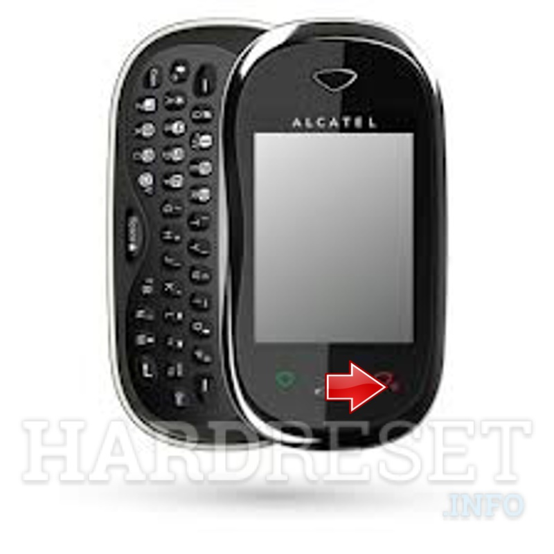Hard Reset ALCATEL OT-880 Carbon