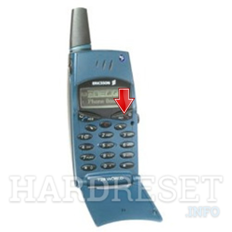 Hard Reset ERICSSON T28 World