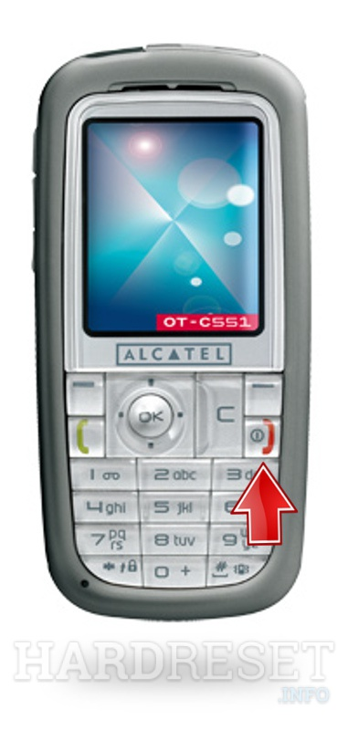 Hard Reset ALCATEL OT-C551