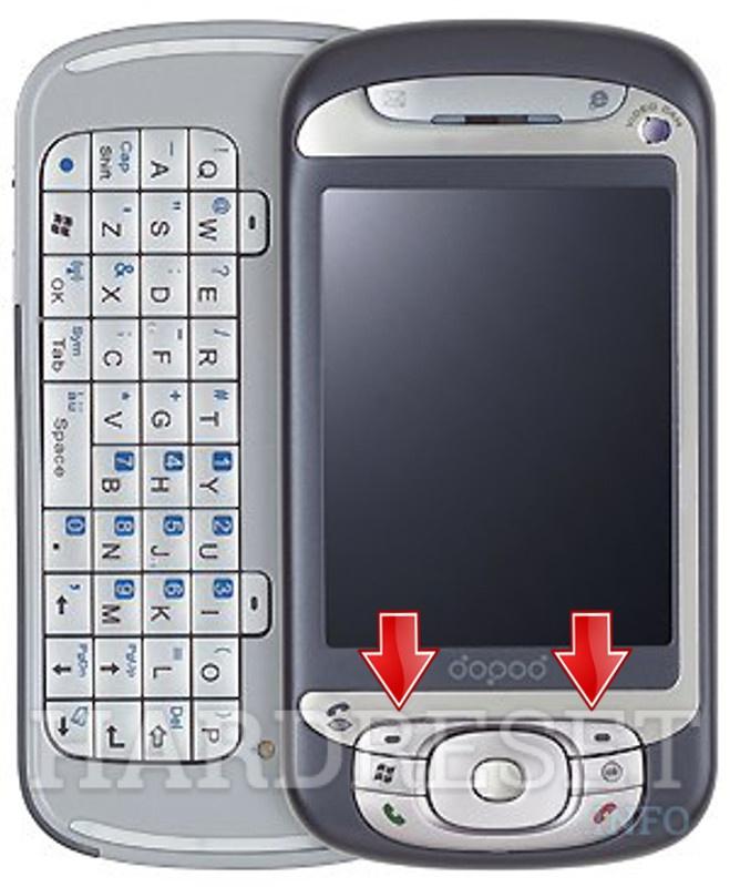 How to hard reset my phone qtek 9600 (htc hermes) hardreset. Info.