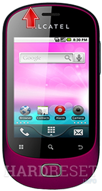 Hard Reset ALCATEL T-Mobile Move