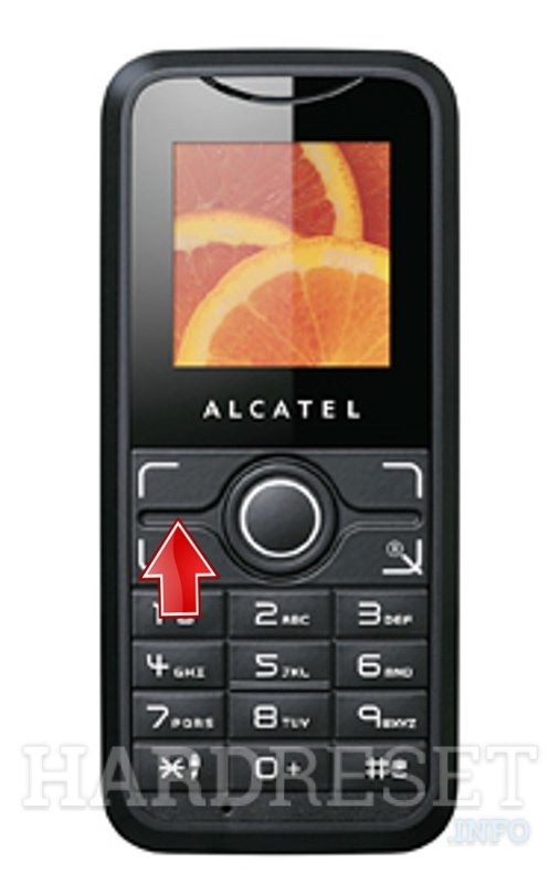 Factory Reset ALCATEL X030X
