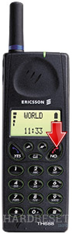 Hard Reset ERICSSON TH688