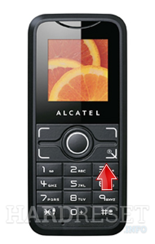 Hard Reset ALCATEL X030X