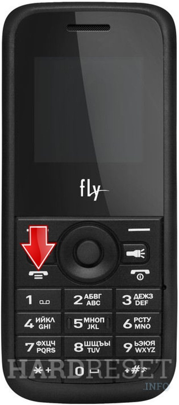 Remove screen password on FLY DS100