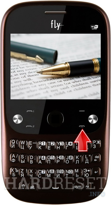 Remove screen password on FLY Q420