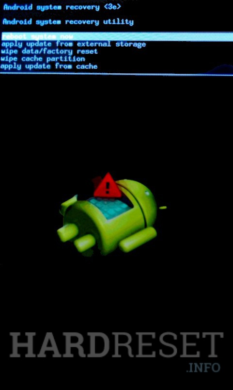 Factory Reset MOTOROLA Droid Mini