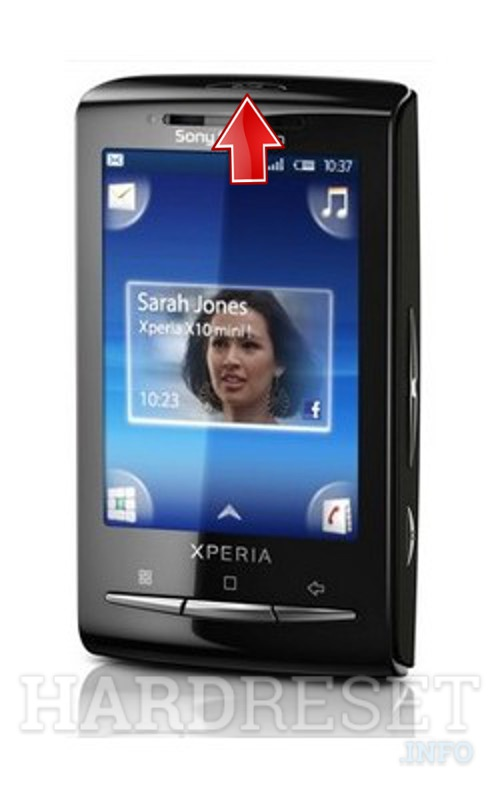 Permanently delete data from SONY ERICSSON Xperia Mini Pro X10 U20i