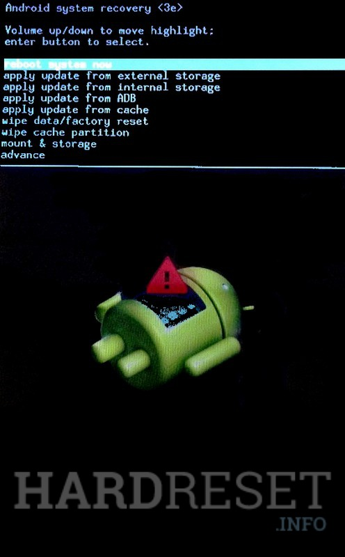 Sony Ericsson Xperia Mini Pro X10 U20i Recovery Mode