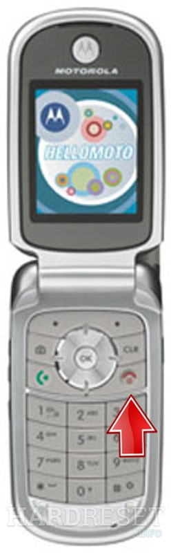 Permanently delete data from MOTOROLA V323i