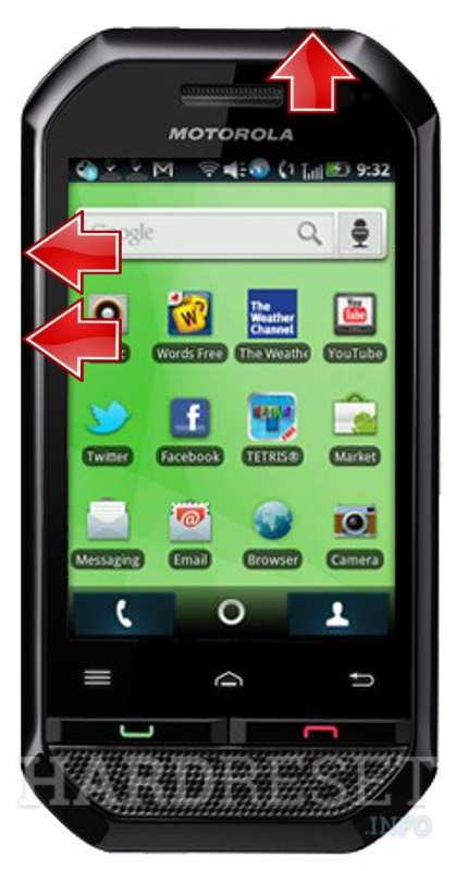 How to master reset a motorola phone