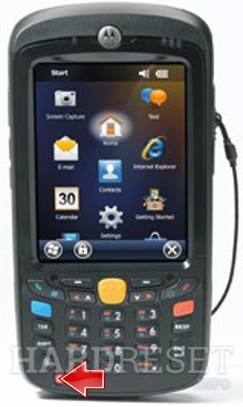 Hard Reset MOTOROLA MC55A0