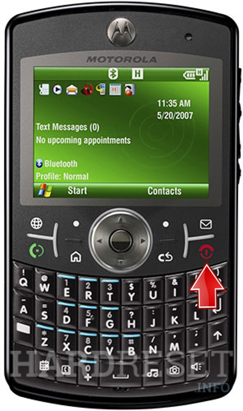 how to hard reset my phone motorola q9h hardreset info rh hardreset info Motorola DVR Manual Motorola User Manuals L 403