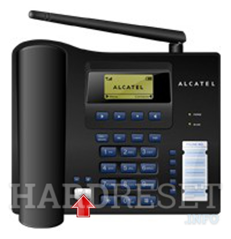 Hard Reset ALCATEL CF19d