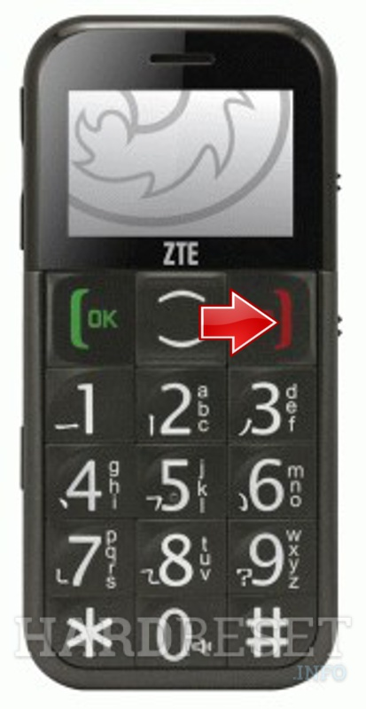 Hard Reset ZTE GS202