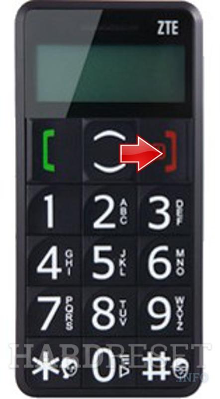 How to Hard Reset my phone - ZTE S302 - HardReset.info