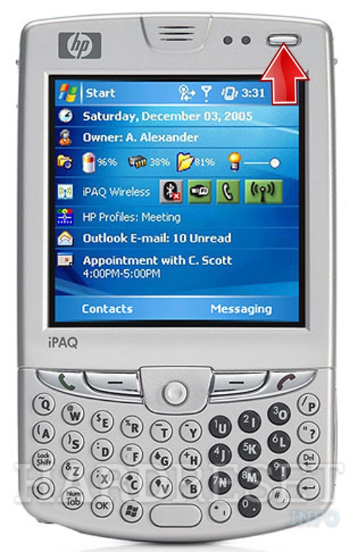 Hard Reset HP iPAQ hw6925 (HTC Sable)