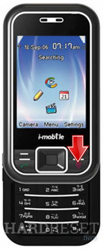 Remove screen password on i-mobile 512