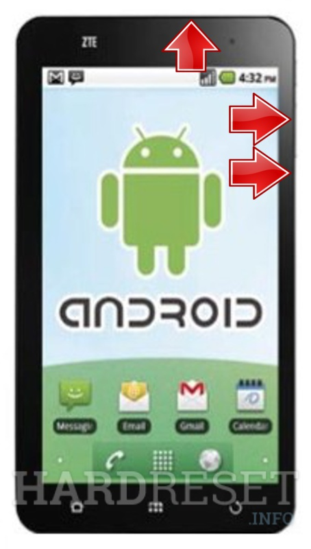 Hard Reset ZTE Light