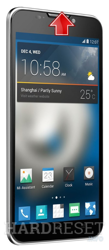 Hard Reset ZTE Grand S II