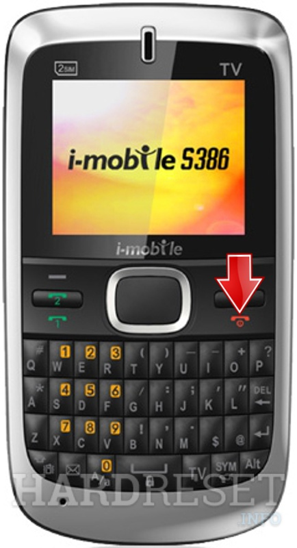 Hard Reset i-mobile S386