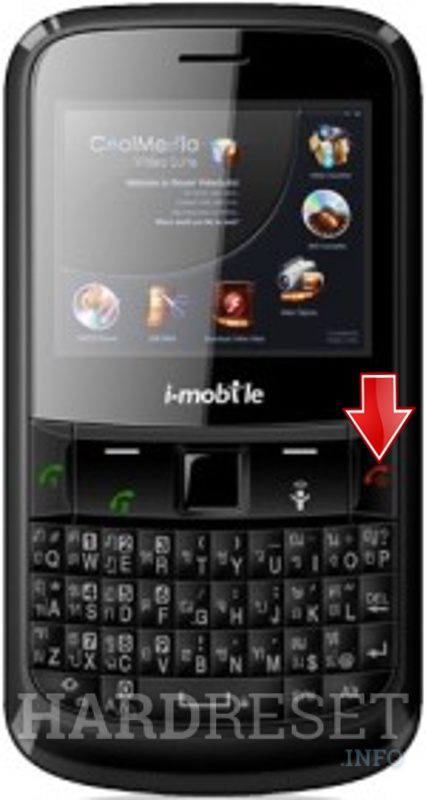 Hard Reset i-mobile S382