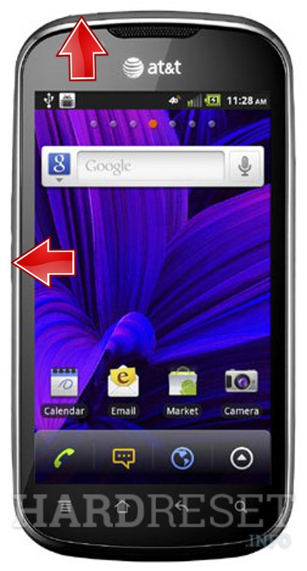 Remove screen password on PANTECH P9070 Burst