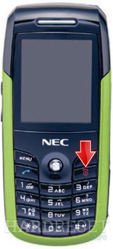 How to Hard Reset my phone - NEC N3105 - HardReset info