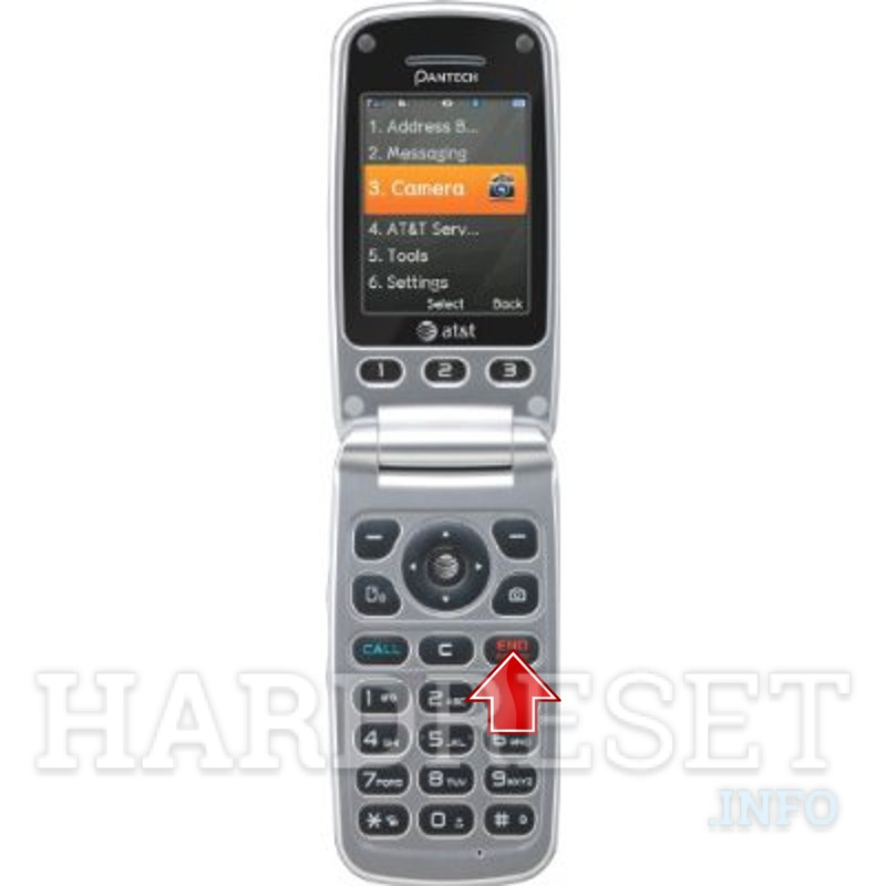 Hard Reset PANTECH P2030 Breeze III