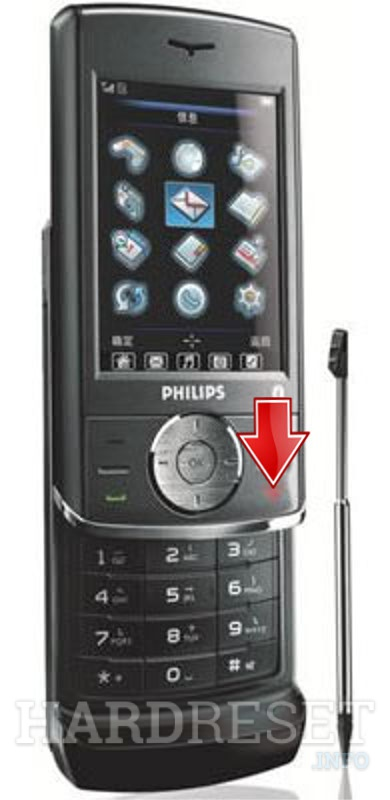 Hard Reset PHILIPS 692
