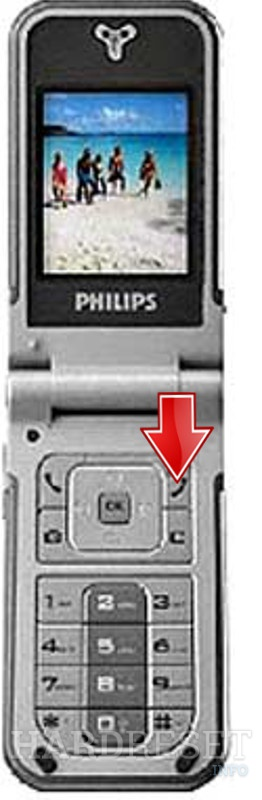 Hard Reset PHILIPS 859