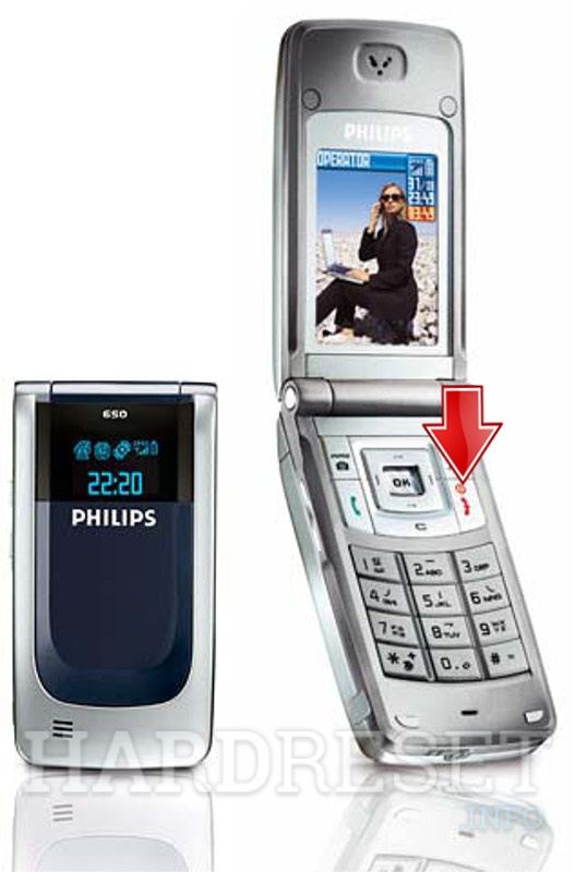 Hard Reset PHILIPS 650
