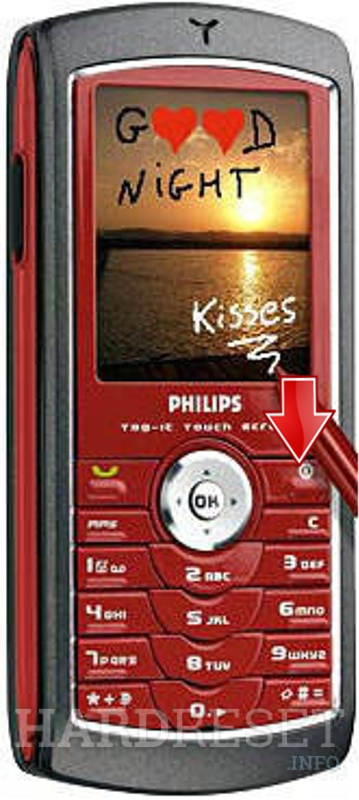 Hard Reset PHILIPS 755