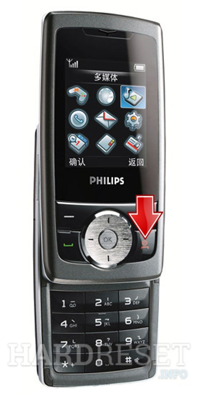 Hard Reset PHILIPS 298