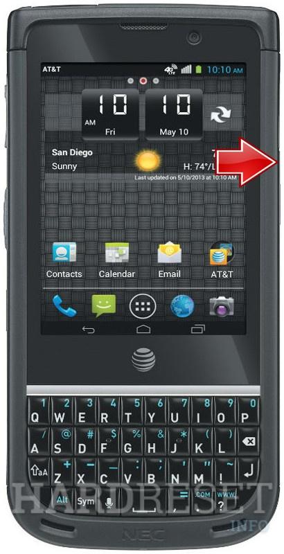 How to Hard Reset my phone - NEC Terrain - HardReset info