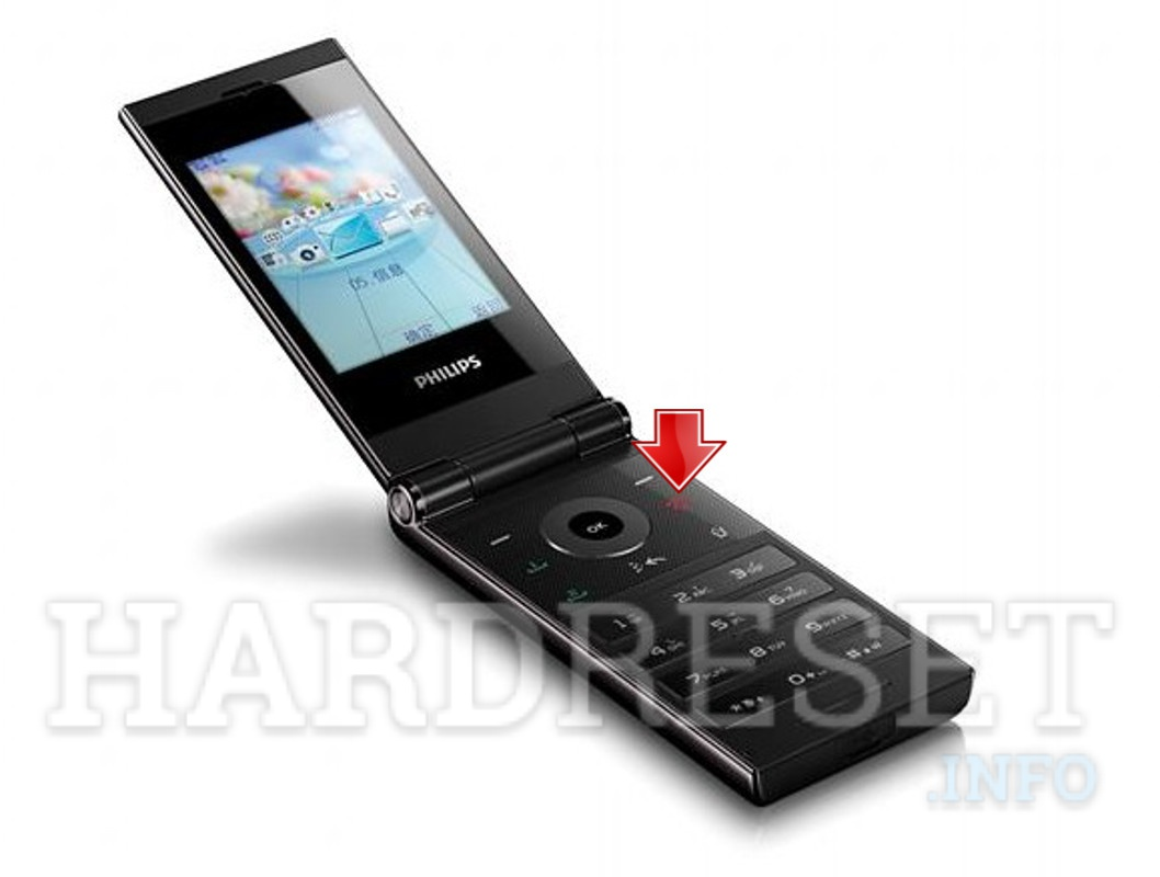 Hard Reset PHILIPS F610