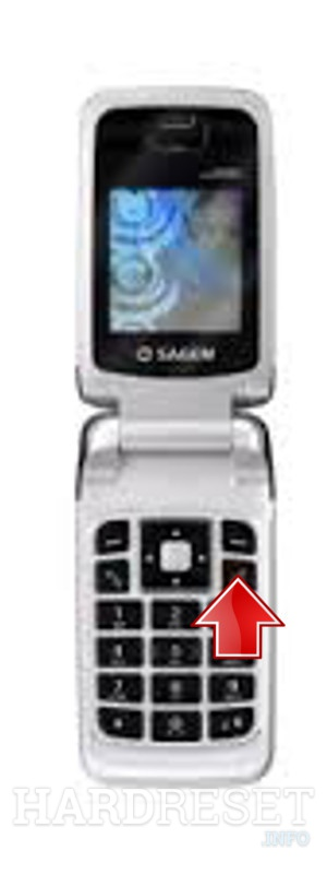Remove screen password on SAGEM MY 200C