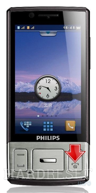 Hard Reset PHILIPS W625