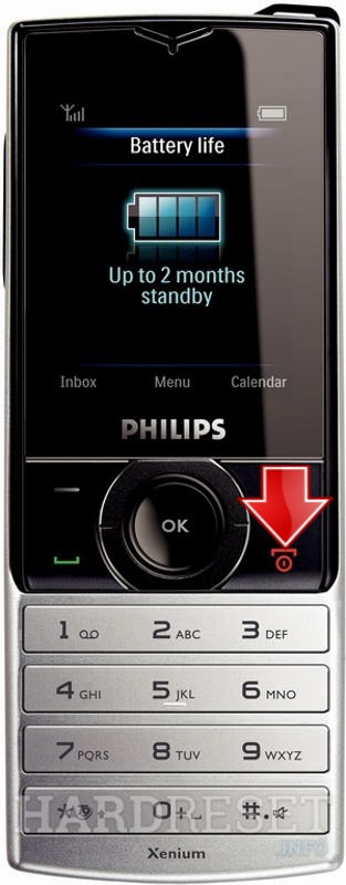 Hard Reset PHILIPS X500